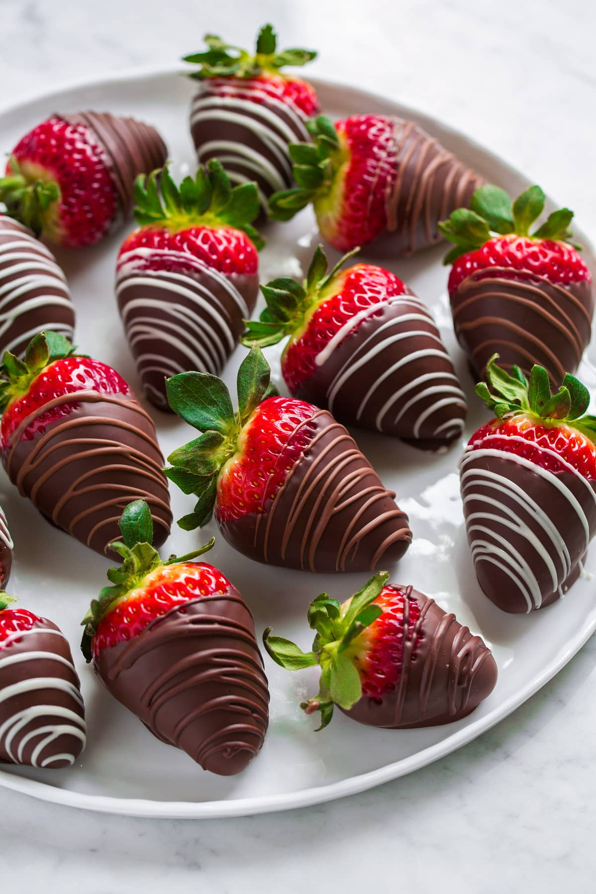 Chocolate Dipped Strawberries!