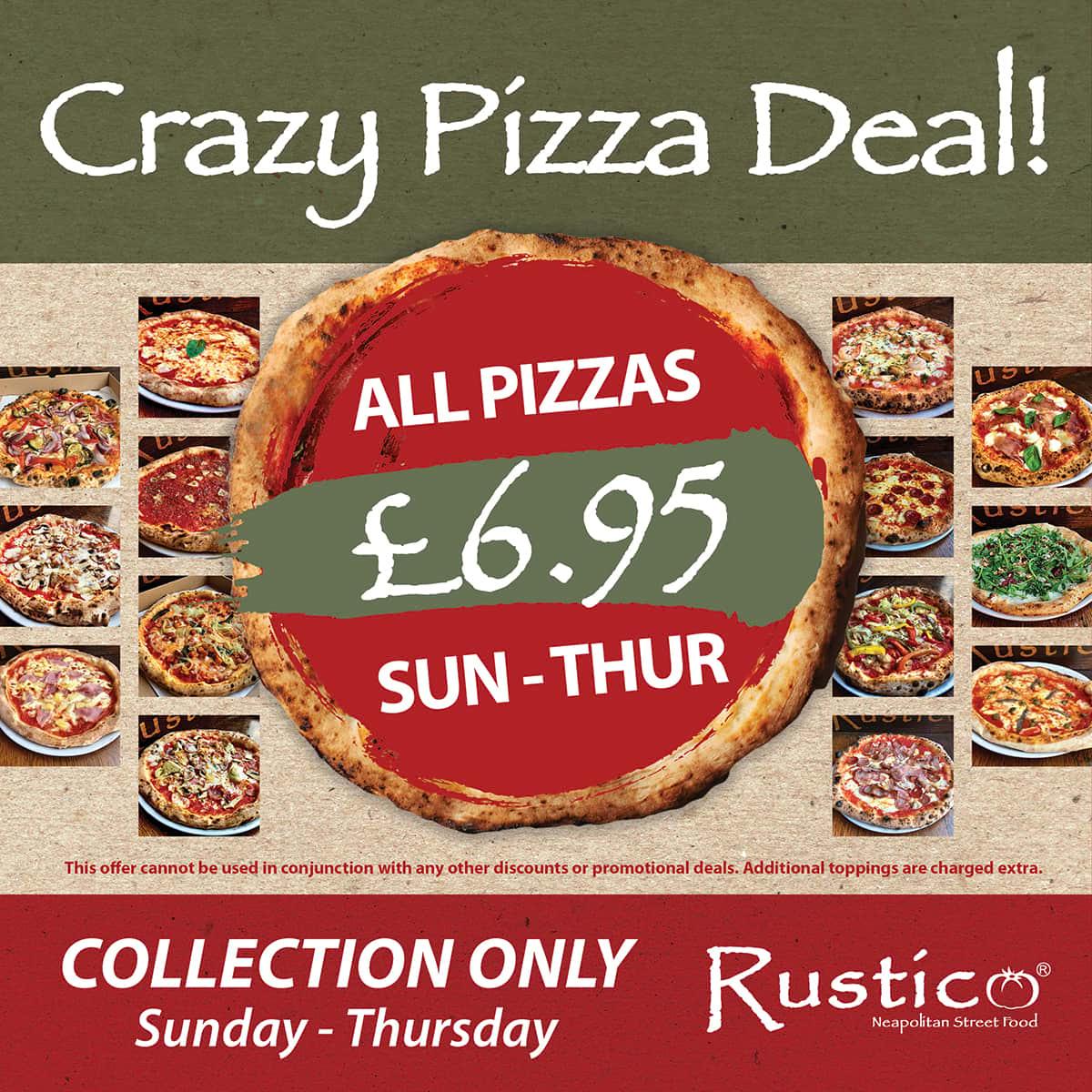 Crazy Pizza Deal