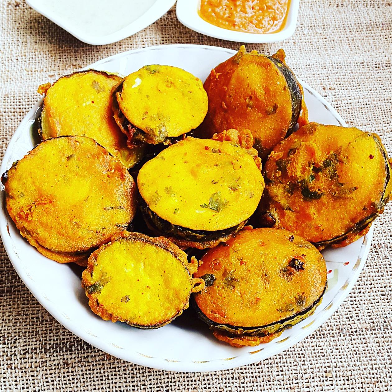 Brinjal Pakora (new)