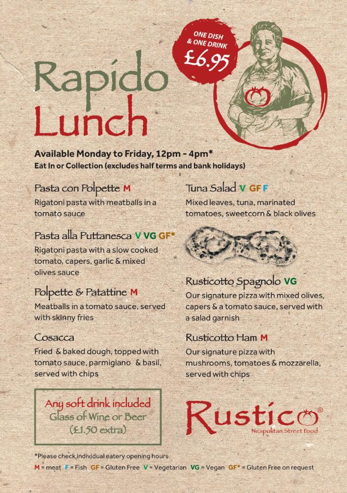 Rapido Lunch